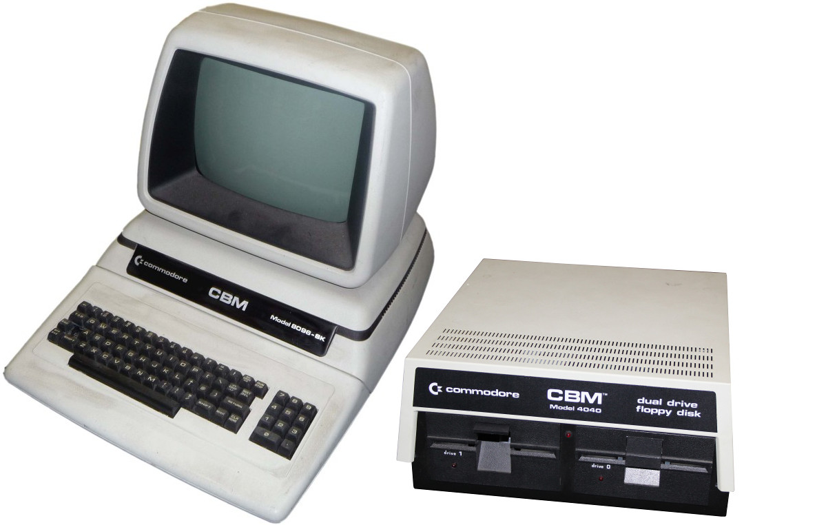 Commodore Pet 8096SK-drive
