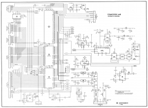 Commodore 64 Schematic Part 1