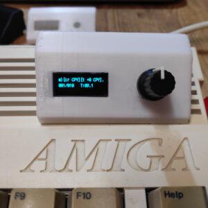 RetroNerd Amiga 600 1200 OLED Case