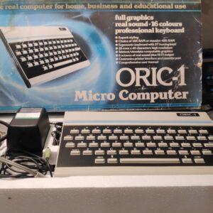 Oric 1 48K Upgraded